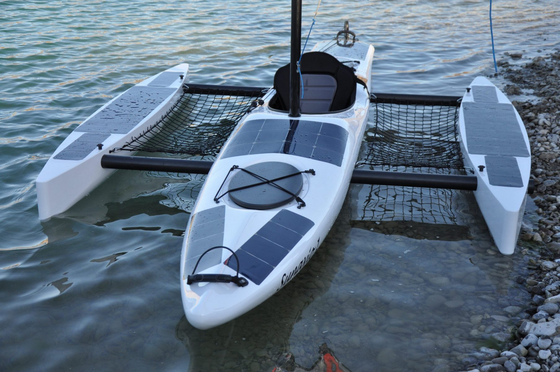 "E-Trimaran 4 In 1 ""Sunavio 1″ With Solar"
